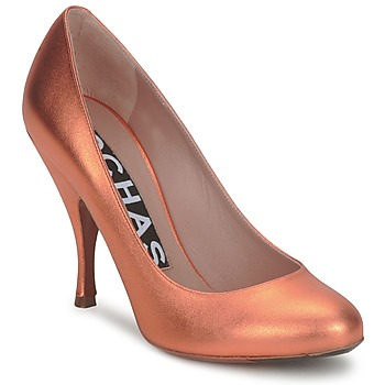 Shoes Women Court shoes Rochas RO18061-90 Metallic orange