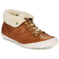Shoes Women High top trainers PLDM by Palladium GAETANE Camel