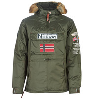 material Men Parkas Geographical Norway BARMAN-KAKI Kaki