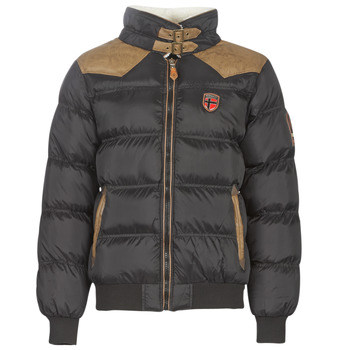 material Men Parkas Geographical Norway ABRAMOVITCH-NOIR Black