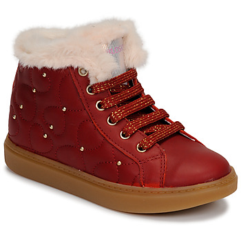 Shoes Girl High top trainers Pablosky 476362 Red