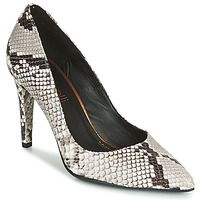 Shoes Women Court shoes Fericelli LARA White / Black / Grey