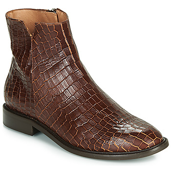 Shoes Women Mid boots Fericelli LANAELLE Brown
