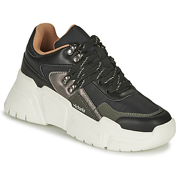 Shoes Women Low top trainers Victoria TOTEM NYLON Black