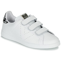 Shoes Women Low top trainers Victoria TENIS VELCRO PIEL White