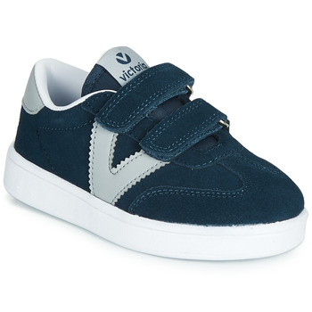 Shoes Children Low top trainers Victoria MILLAS VELCROS Marine