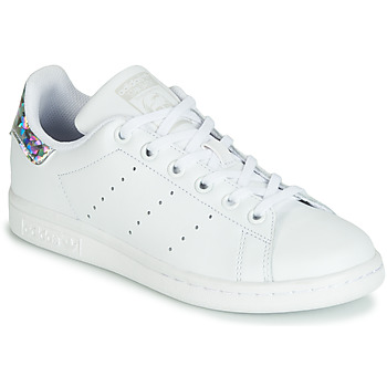 adidas Originals STAN SMITH White - Fast delivery | Spartoo ...