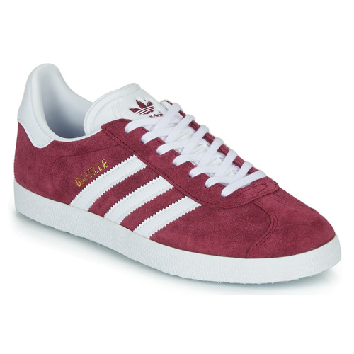 Shoes Low top trainers adidas Originals GAZELLE Bordeaux