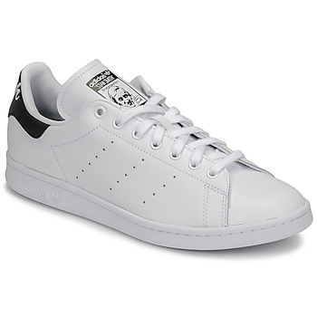 Shoes Low top trainers adidas Originals STAN SMITH White / Black