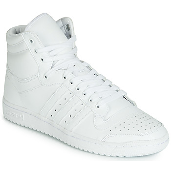 Shoes Men High top trainers adidas Originals TOP TEN HI White