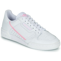 Shoes Women Low top trainers adidas Originals CONTINENTAL 80 W White / Pink