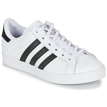 Shoes Children Low top trainers adidas Originals COAST STAR J White / Black
