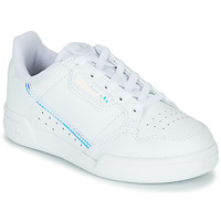 Shoes Children Low top trainers adidas Originals CONTINENTAL 80 C White / Blue