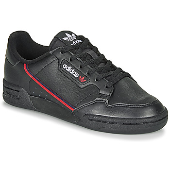 Shoes Children Low top trainers adidas Originals CONTINENTAL 80 J Black