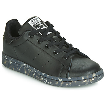 Shoes Children Low top trainers adidas Originals STAN SMITH C Black