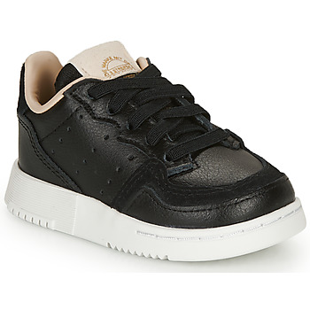 Shoes Children Low top trainers adidas Originals SUPERCOURT EL I Black