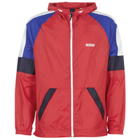 material Men Macs Levi's COLORBLOCK WINDRUNNER Red / Blue