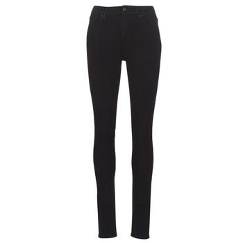 material Women Skinny jeans Levi's 721 HIGH RISE SKINNY Black