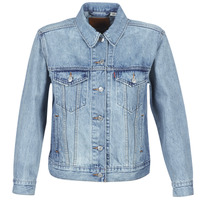 material Women Denim jackets Levi's EX-BOYFRIEND TRUCKER Blue