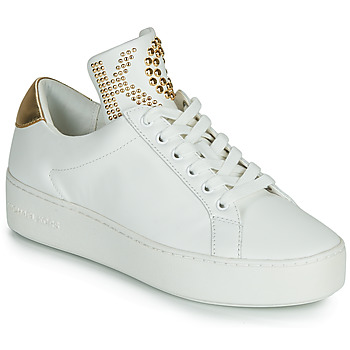 Shoes Women Low top trainers MICHAEL Michael Kors MINDY LACE IP White