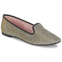 Shoes Women Ballerinas Pretty Ballerinas FAYE Metallic / Shiny
