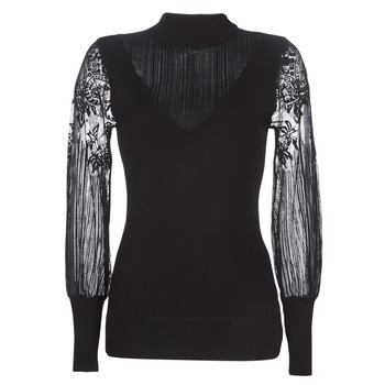 material Women jumpers Moony Mood LOVEI Black