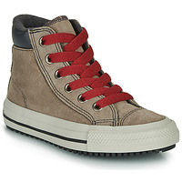 Shoes High top trainers Converse CHUCK TAYLOR ALL STAR PC BOOT BOOTS ON MARS - HI Brown