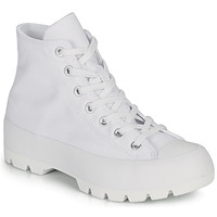 Shoes Women High top trainers Converse CHUCK TAYLOR ALL STAR LUGGED BASIC CANVAS White