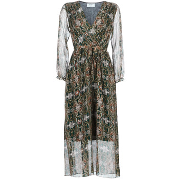 material Women Long Dresses Betty London LILIE-ROSE Green / Multicoloured