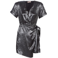 material Women Short Dresses Moony Mood LIVINE Silver