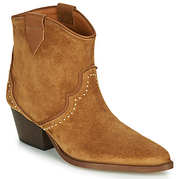 Shoes Women Ankle boots Betty London LOUELLA Camel