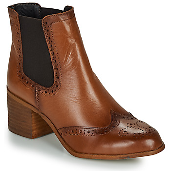 Shoes Women Ankle boots Betty London LARISSA Cognac