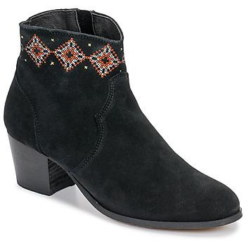 Shoes Women Ankle boots Betty London LAURE-ELISE Black