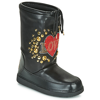 Shoes Women Snow boots Love Moschino SKI BOOT Black