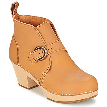Shoes Women Ankle boots Swedish hasbeens PETRA Natural