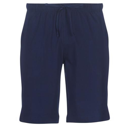 material Men Shorts / Bermudas Polo Ralph Lauren SLEEP SHORT-SHORT-SLEEP BOTTOM Marine