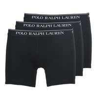 Underwear Men Boxer shorts Ralph Lauren BOXER BRIEF-3 PACK Black