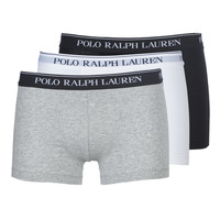 Underwear Men Boxer shorts Polo Ralph Lauren CLASSIC-3 PACK-TRUNK Black / White / Grey
