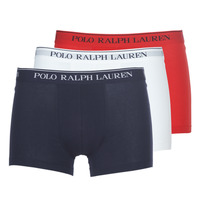 Underwear Men Boxer shorts Ralph Lauren CLASSIC-3 PACK-TRUNK Blue / White / Red