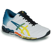 Shoes Men Low top trainers Asics GEL-QUANTUM 360 5 White / Multicoloured
