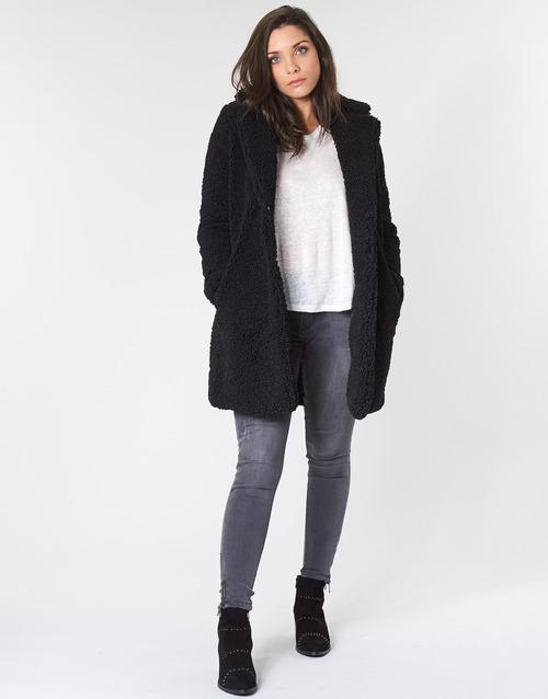 material Women coats Noisy May NMGABI Black