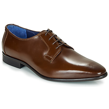 Shoes Men Brogue shoes Azzaro VICHE Brown