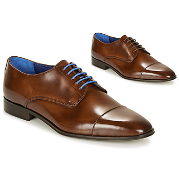 Shoes Men Derby shoes Azzaro REMAKE Cognac