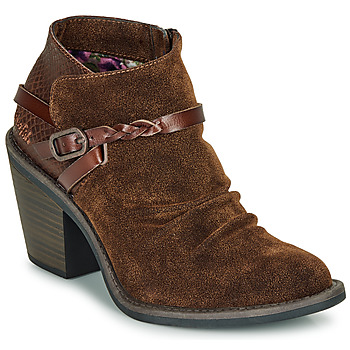 Shoes Women Ankle boots Blowfish Malibu LAMA Brown