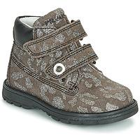 Shoes Girl Mid boots Primigi (enfant) ASPY 1 Grey / Silver
