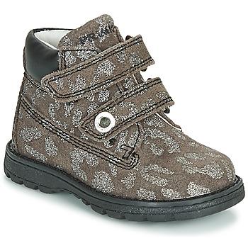 Shoes Girl Mid boots Primigi ASPY 1 Grey / Silver