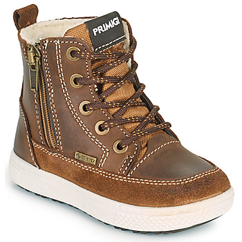 Shoes Boy Mid boots Primigi BARTH GORE-TEX Brown
