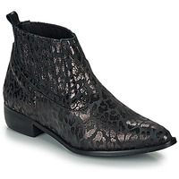 Shoes Women Mid boots Ippon Vintage GILL ARTY Black
