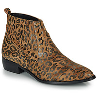 Shoes Women Mid boots Ippon Vintage GILL ARTY Camel