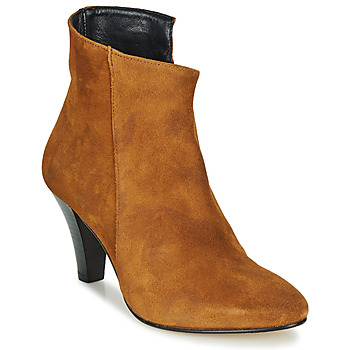 Shoes Women Ankle boots Ippon Vintage PURDEYS LAND Camel